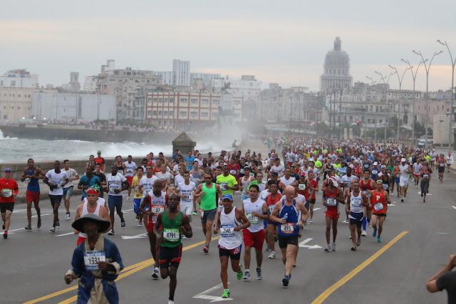 MARABANA maratón de La Habana seleccionada como destino internacional para el 2018