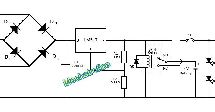 power failure light circuit diagram