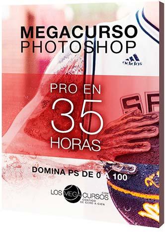 "Megacurso de Photoshop ""Pro en 35h"" 1/5 Incl. Archivos"