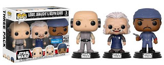 Funko Pop! 3-pack Cloud City 3-pack - Lobot, Ugnaught y Bespin Guard