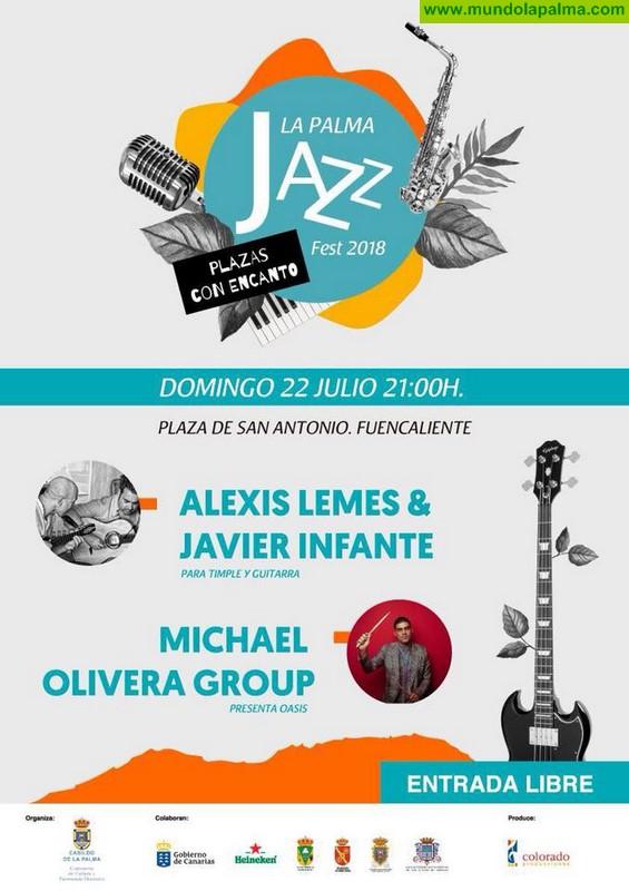 Plazas con Encanto - La Palma Jazz Fest 2018 en 22 julio en Fuencaliente