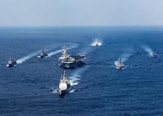 Rombongan Kapal Induk Amerika