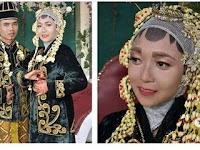 Make Up Pengantin Ini Viral Lantaran Make Up yang Ia Gunakan Tak Seperti Make Up Pengantin Lainnya