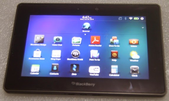 harga Blackberry Playbook 64GB