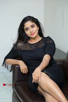 Telugu Actress Karunya Chowdary Latest Stills in Black Short Dress at Edo Prema Lokam Audio Launch .COM 0188.JPG