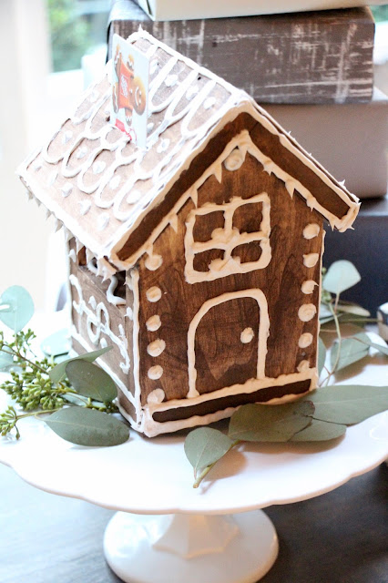 ~DIY gingerbread gift card holder~{with The Home Depot}