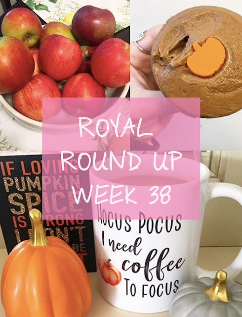 fall-apple picking-royally pink-weekly round up-pumpkin spice cupcakes