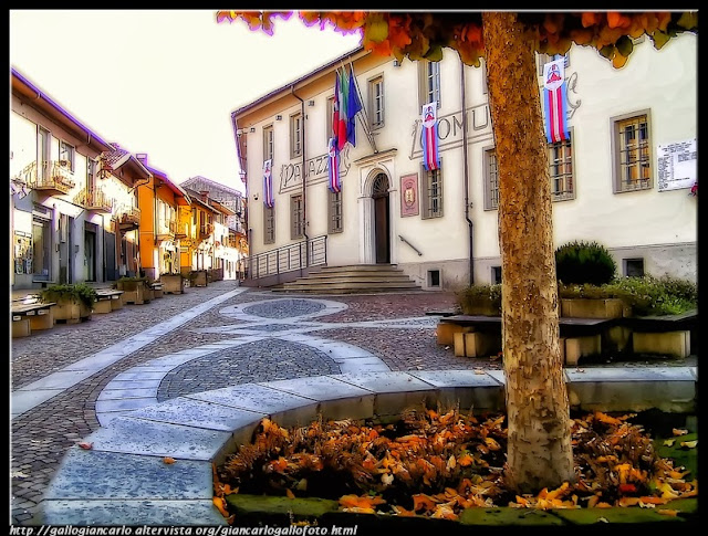 Druento - The town hall - HDR