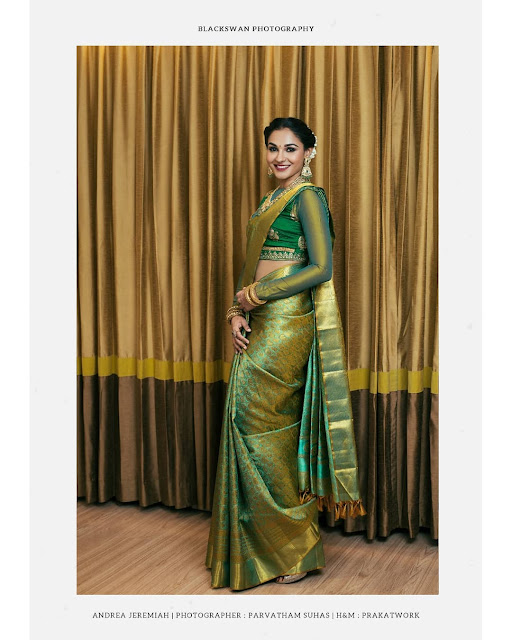 Kanjeevaram Saree with full sleeves Blouse