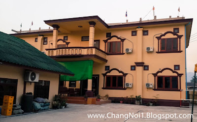 Staying at the Sayfon Chmysai Guesthouse in Sayaboury, Laos