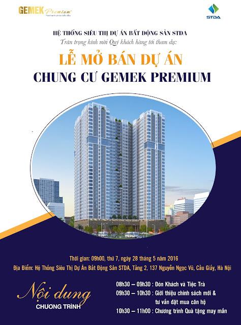 Lễ mở bán Gemek Premium