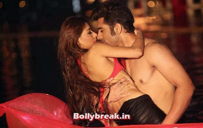Sara Khan kissing images from Midsummer Midnight Mumbai,  Sara Khan Bikini & kissing Pics - Midsummer Midnight Mumbai Movie