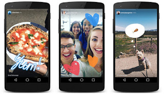 Cara Upload Foto dan Video dari Galeri Android Ke Instagram Stories