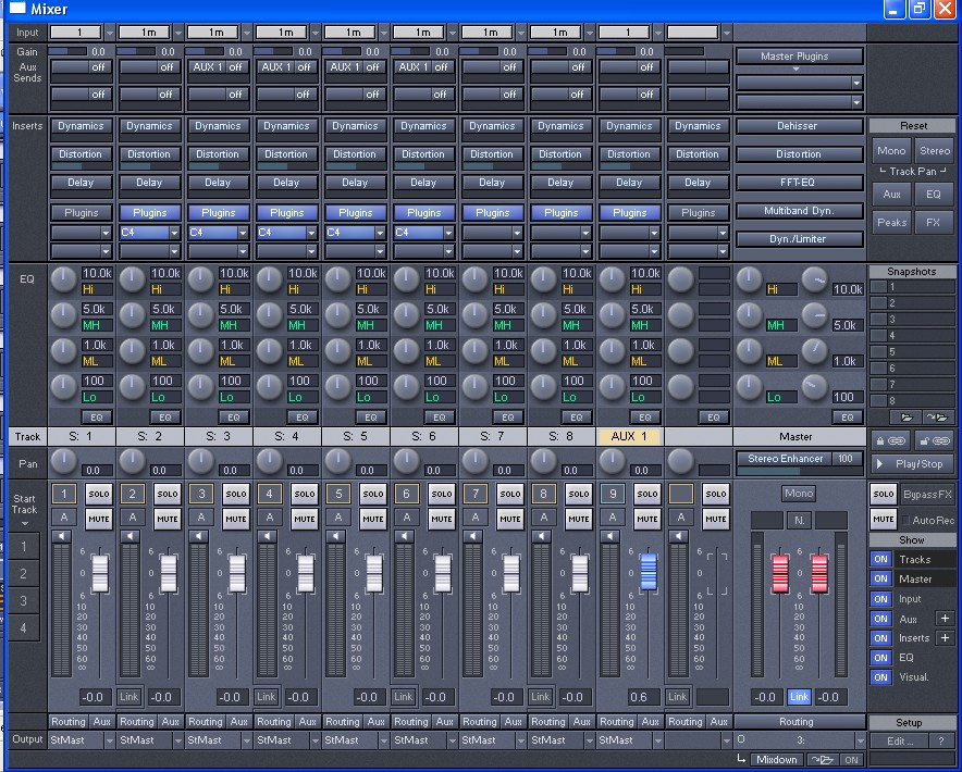 Mixing Software Related Keywords & Suggestions - Mixing