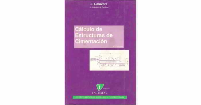 Descargar Cálculo de Estructuras de Cimentación - Calavera