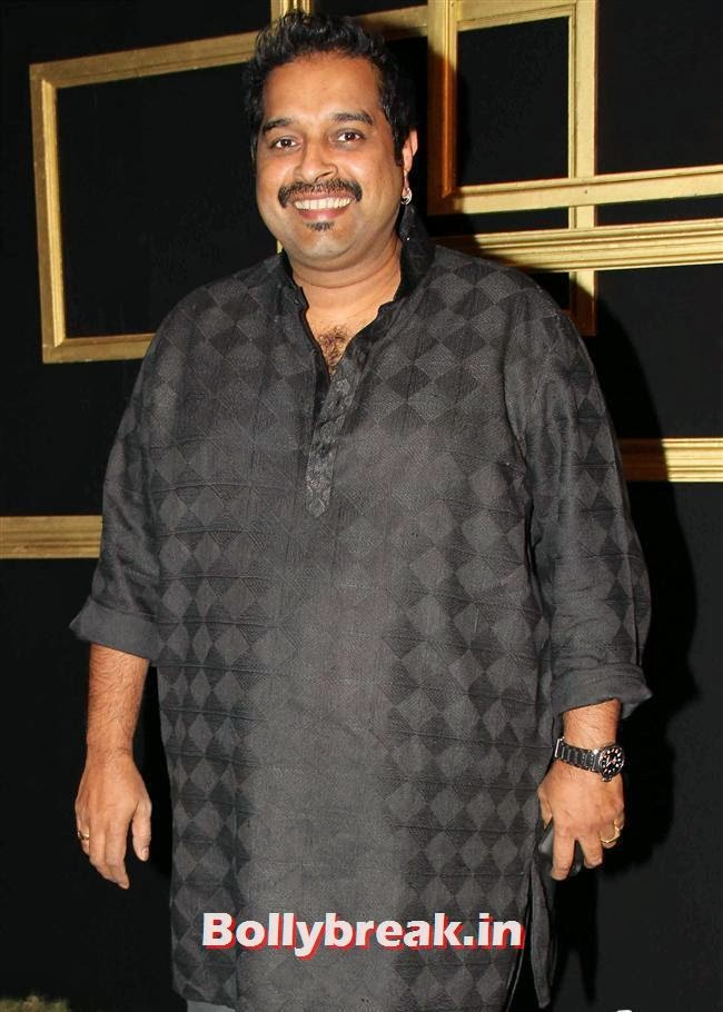Shankar Mahadevan, All Bollywood Celebs at Deepika Padukone Golden Party