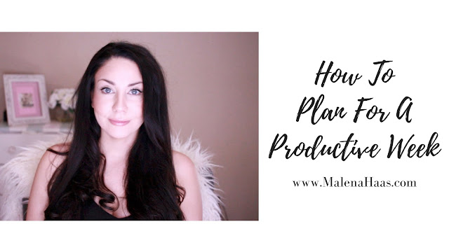 5 Steps to Planning Your Most Productive Week Ever! Plus FREE Printable http://www.malenahaas.com/2018/05/5-steps-to-planning-your-most.html