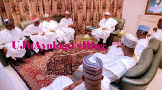 Buhari, Northern Governors Meet In Aso Rock (SEE PHOTOS)