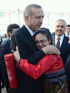 Gabadhii ku kor ooysay Rajab Dayib Erdoghan