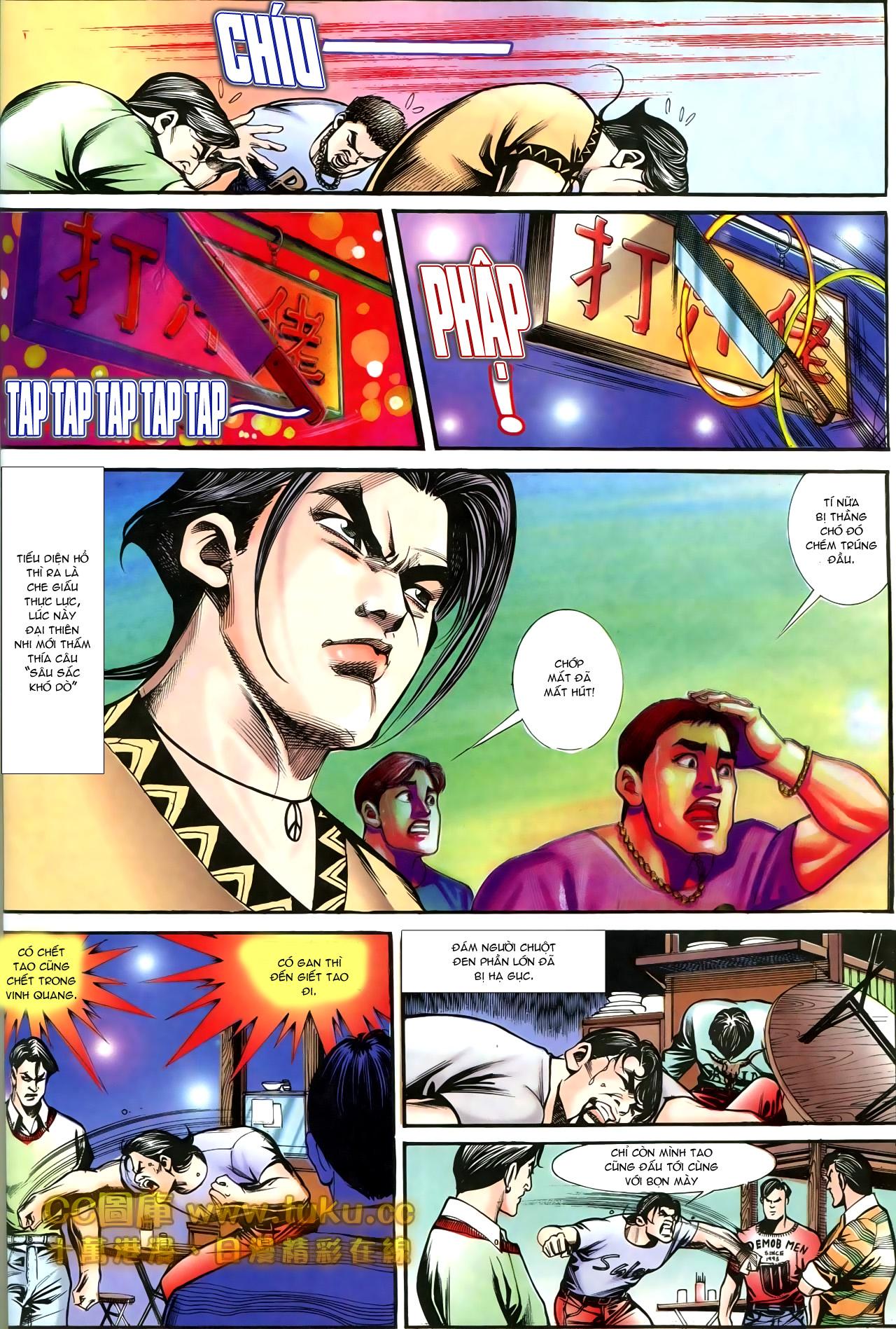 Người Trong Giang Hồ chapter 197: quạ đen báo thù trang 14