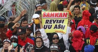 Demi Honorer K2, ADKASI Siapkan Gebrakan agar Revisi UU ASN Dilanjutkan