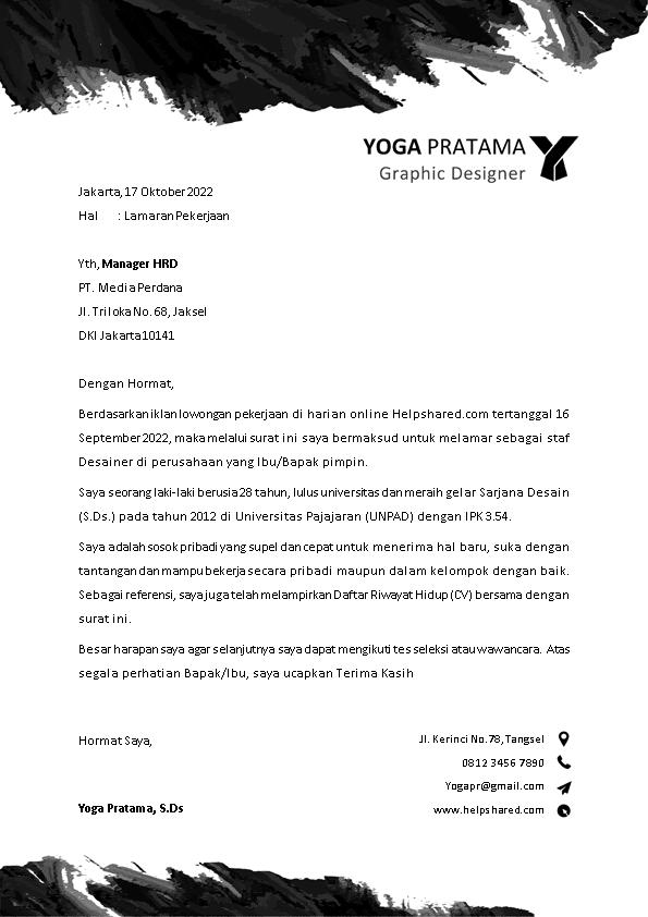 Kop Surat Lamaran Kerja 17