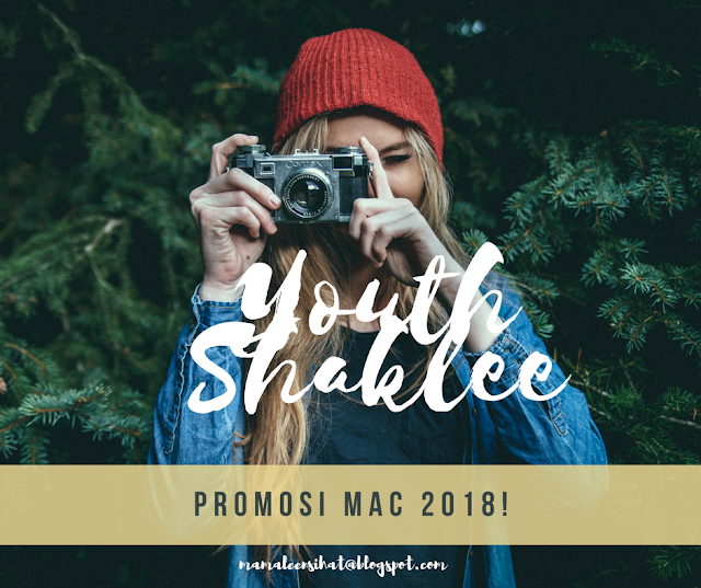 PROMOSI YOUTH SHAKLEE SKIN CARE!