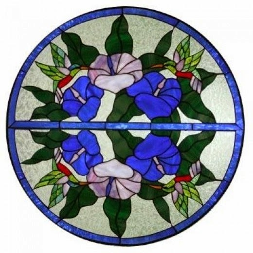 Stained Glass Art Copyright by JaguarJulie