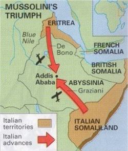 Invasion map