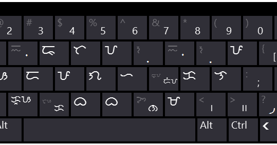 baybayin modern fonts baybayin keyboard layout for windows 7 8 10. Black Bedroom Furniture Sets. Home Design Ideas