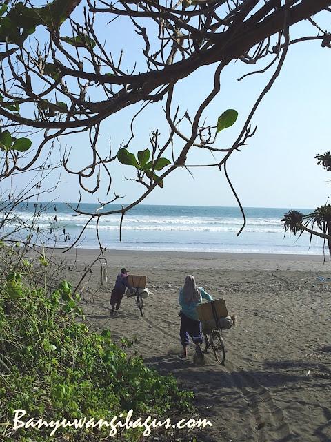 Pantai Marengan Banyuwangi.
