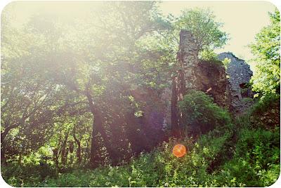 Ravenscraig Castle ruins - Inverugie Aberdeenshire