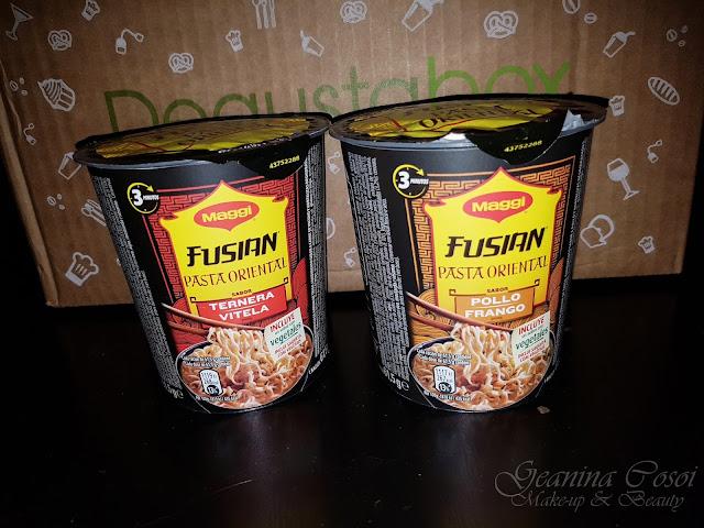 Maggi Fusian Pasta Oriental Cup Caja Degustabox - Septiembre ´17