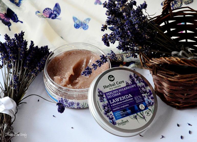 Herbal Care Solankowy peeling do ciała Lawenda z mleczkiem Waniliowym - recenzja