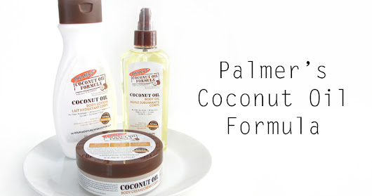 Moisturize with Palmer's Coconut Oil Formula