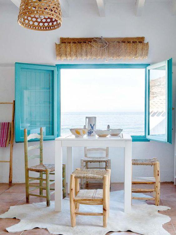 idees deco stores sisal pour fenêtres