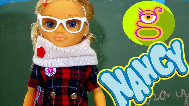 ¡¡ Nueva Muñeca Nancy va al Cole !! - Vídeos de Juguetes Famosa en español