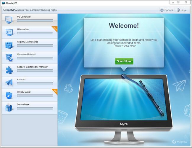 Resultado de imagen de MacPaw CleanMyPC