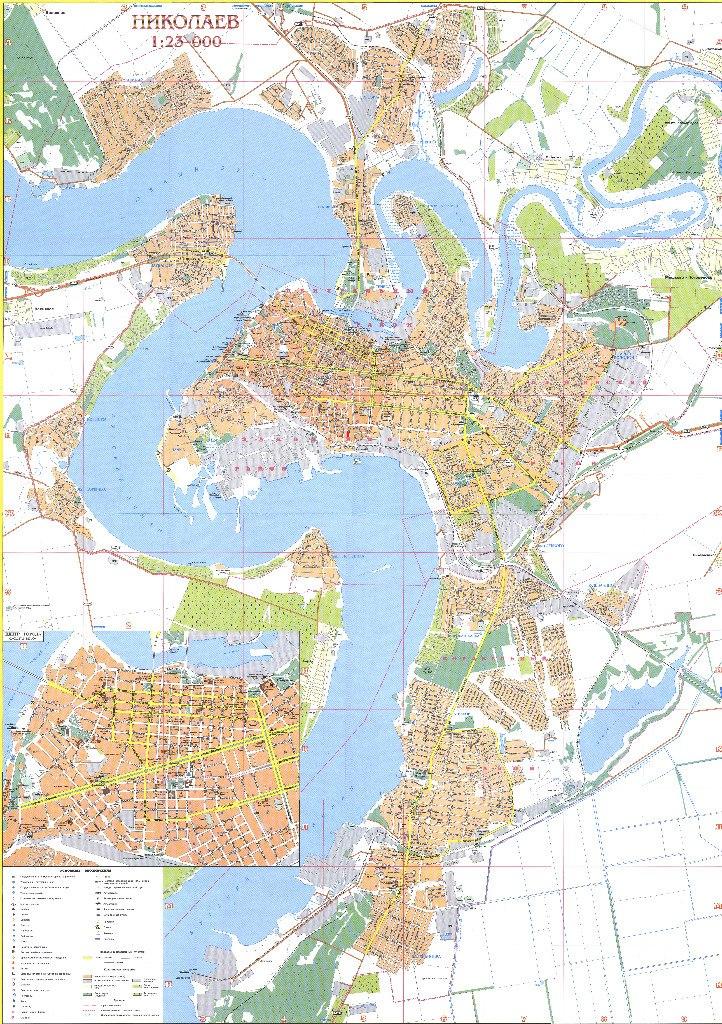 карта николаева с картинками сделаем это