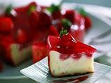 Tarta de Queso con Fresas en Olla Programable