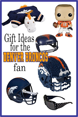 Turn your Man Cave or TV room into the perfect Denver Bronco fan cave.  These gift ideas are the perfect Christmas, birthday, mother's day or father's day gifts for the Bronco football fan.