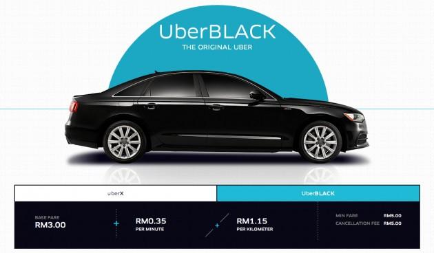pemandu uber black malaysia