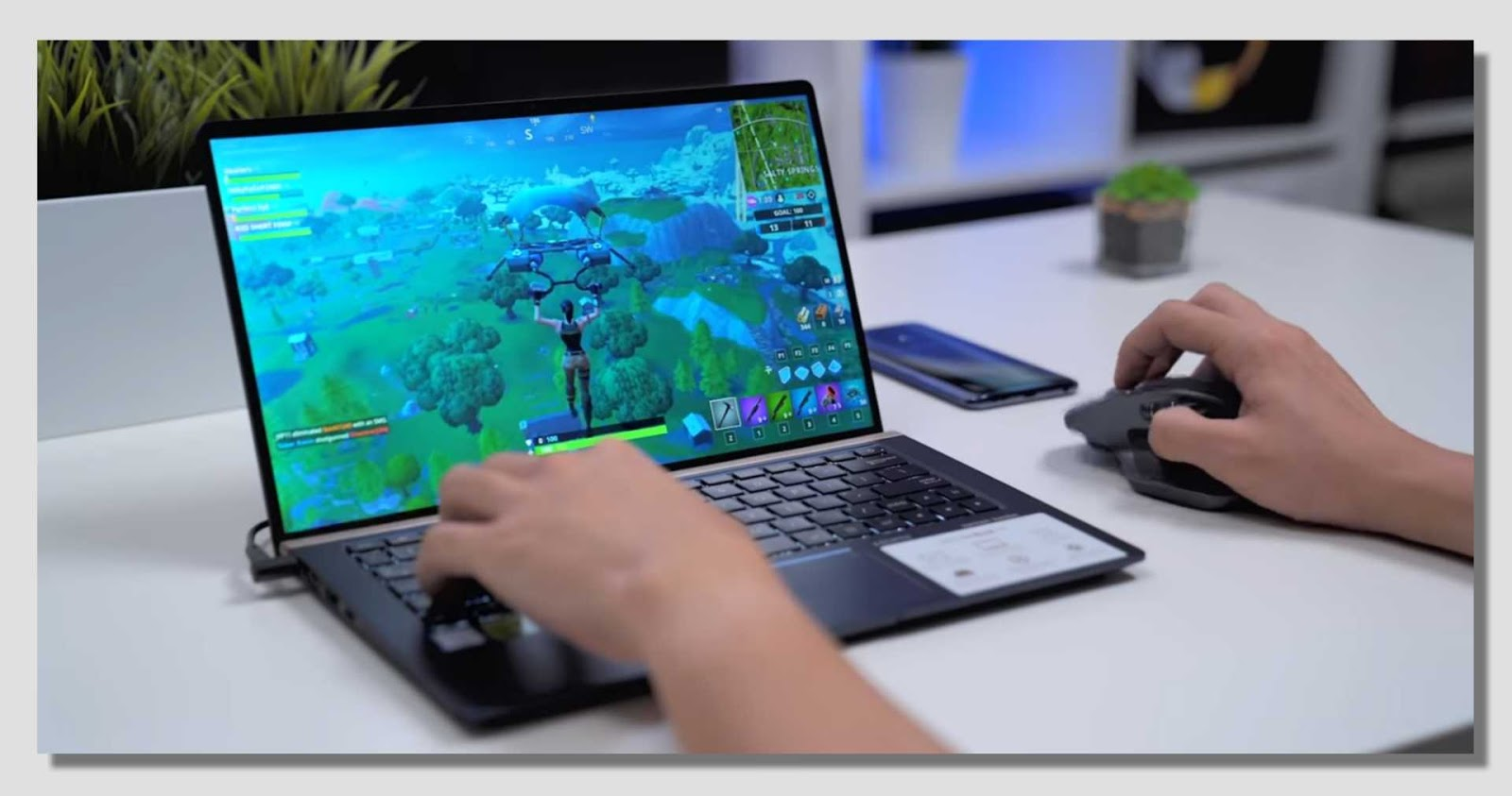 Asus ZenBook Gaming Test
