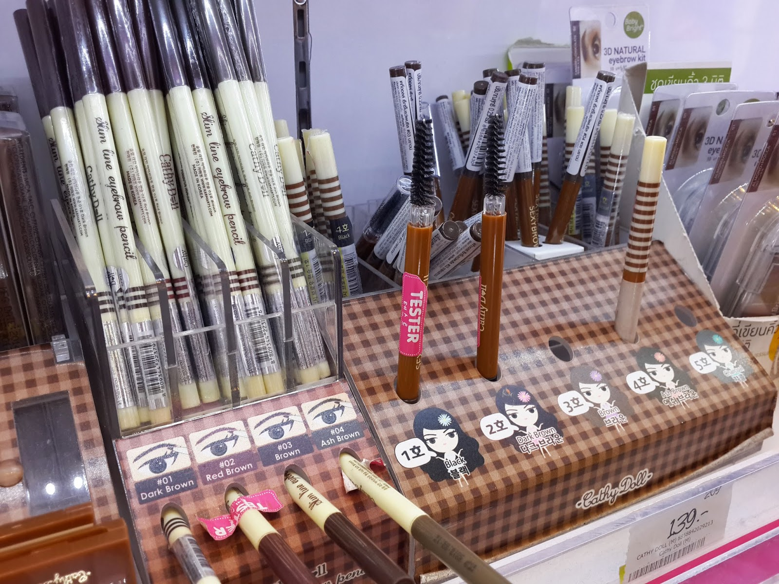 cheap drugstore makeup in Bangkok