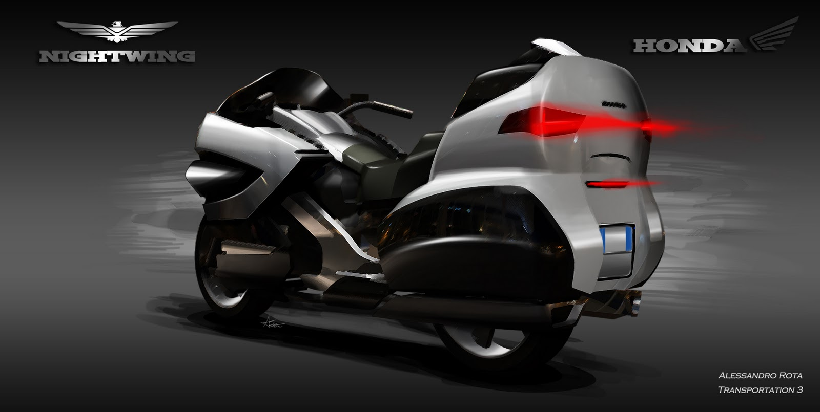 Alessandro Rota: Honda NightWIng