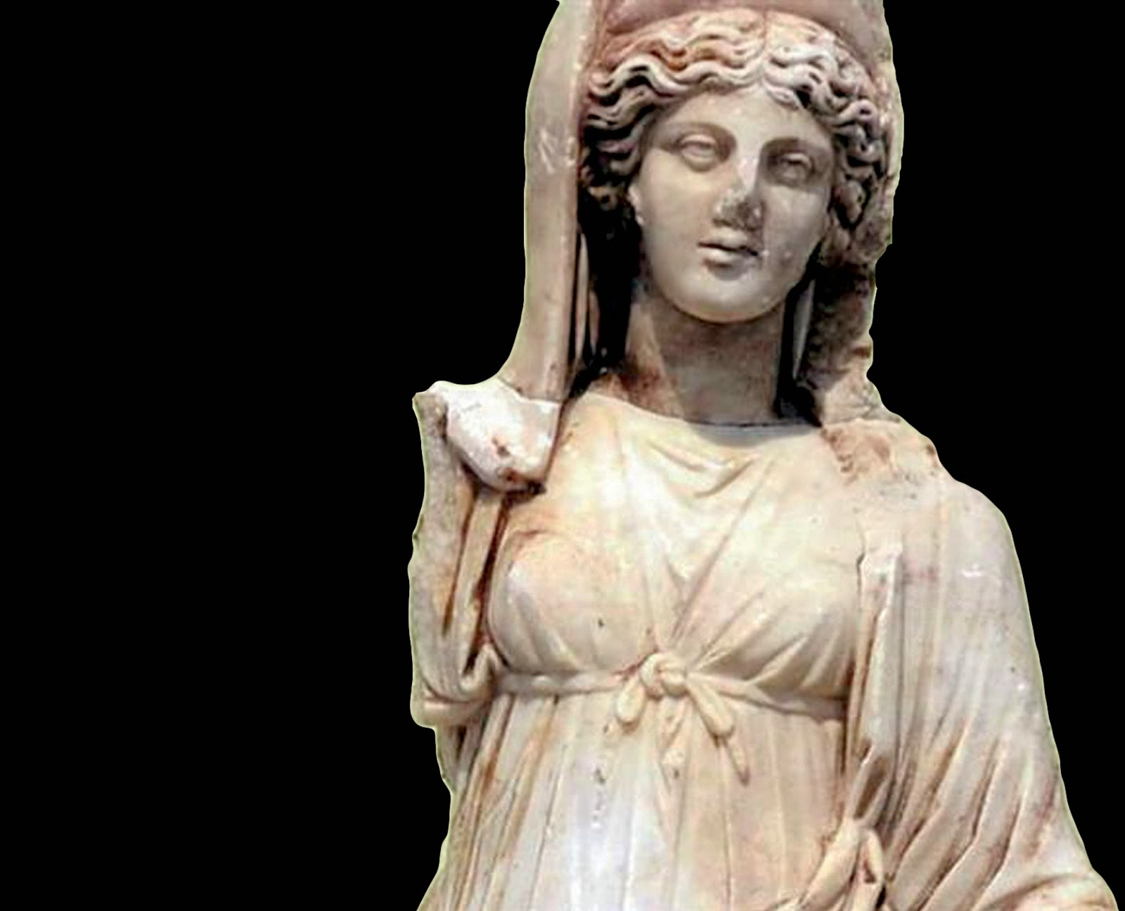Search to find missing pieces of Greek statue started ...