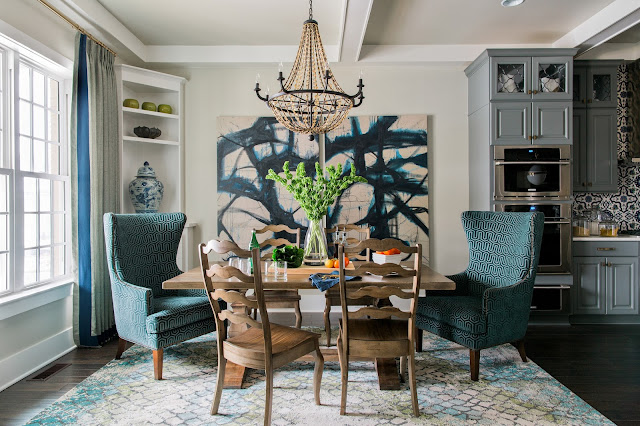 Dining Room in HGTV SmartHome in Raleigh, NC.