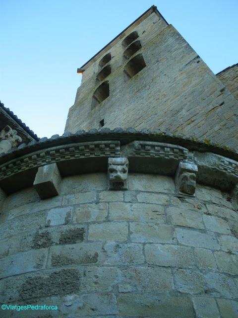 Abadia de Saint Papoul, França, Aude, Art romànic, Mestre de Cabestany