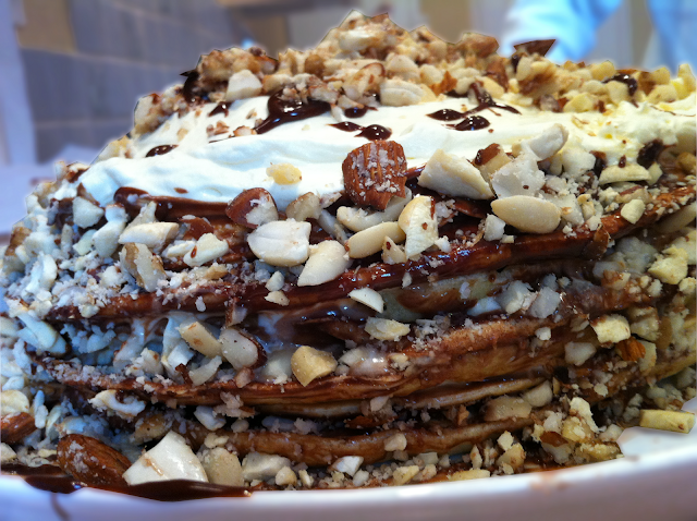 Small Chocolate Cake Recipe Jamie Oliver: The Greedy Fork: Pancake Cake