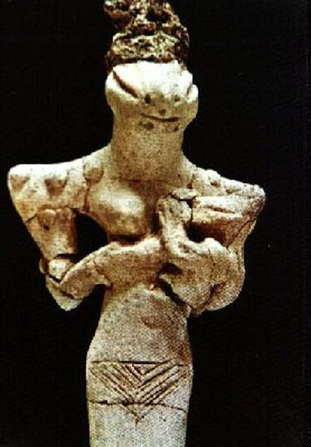 Estatuilla Reptiliana Sumeria
